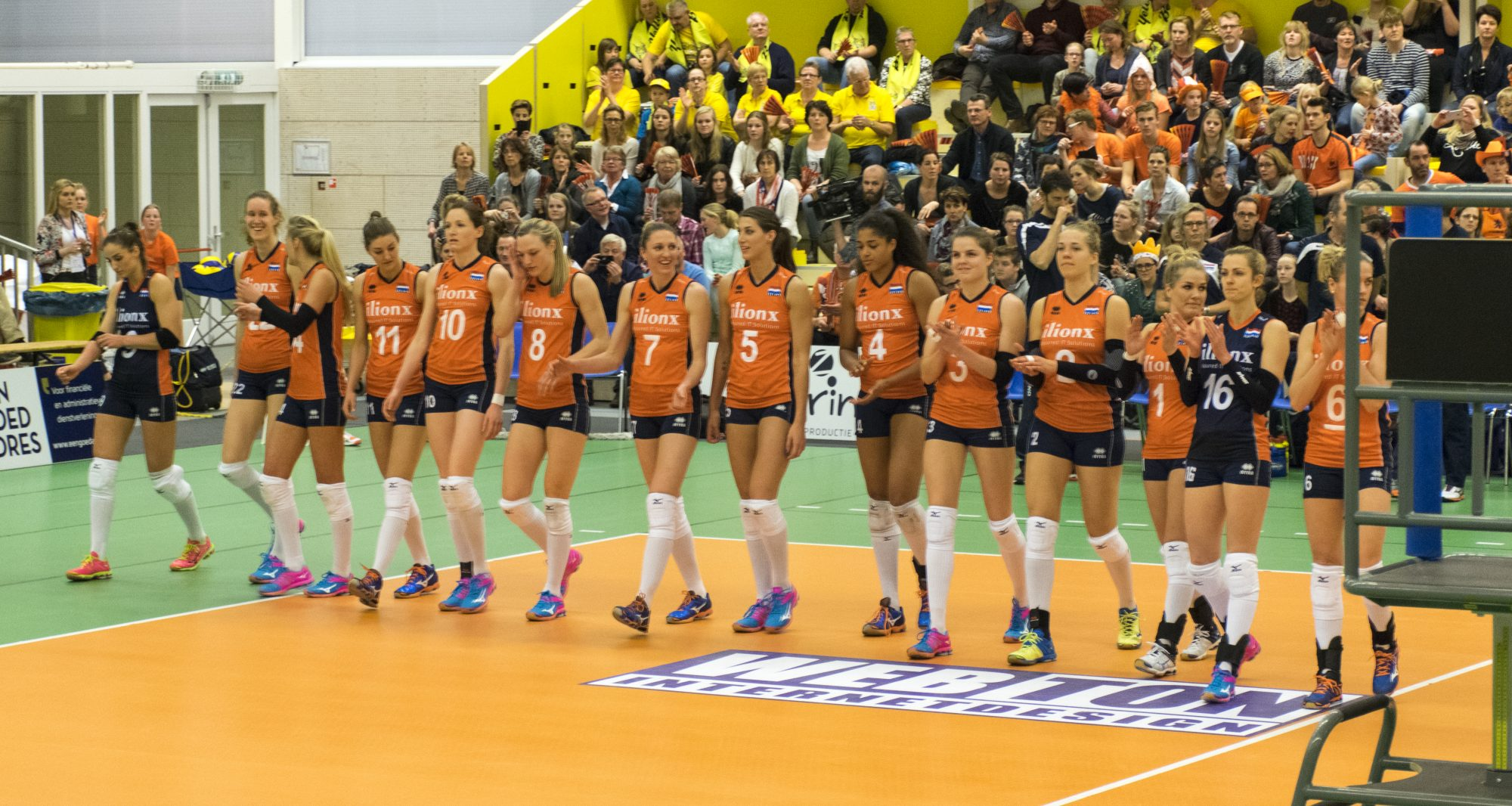 Volleybaldames